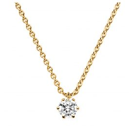 trendor 532655 Diamant-Collier 0,20 kt. Gold 585