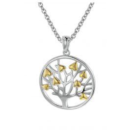 trendor 08816 Anhänger Lebensbaum mit Halskette Silber 925