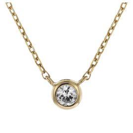 trendor 08851 Halskette Gold 585 Zirkonia