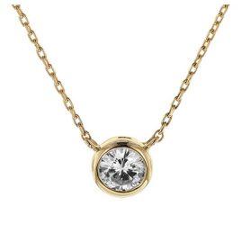 trendor 08853 Halskette Gold 585 Zirkonia