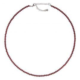 trendor 75346 Damen-Kette Granat 40 cm