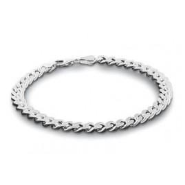 trendor 85864 Herren Panzer-Armband Silber