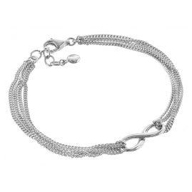 trendor 08760 Silber-Armband Unendlichkeit