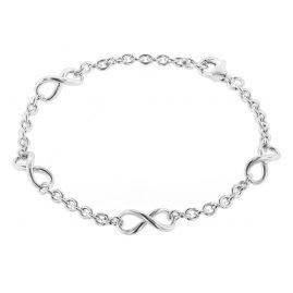 trendor 08762 Silber-Armband Unendlichkeit