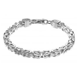 trendor 08797 Herren-Armband Königskette Silber 925