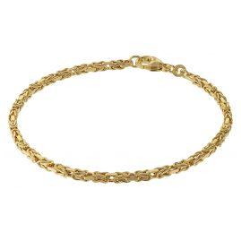 trendor 75296 Armband für Damen Königskette Gold 333 (8 Karat)