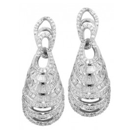 trendor 80722 Silber Ohrschmuck Luxury