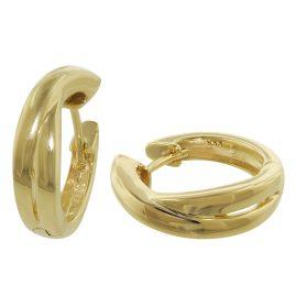 trendor 35384 Creolen Gold-Ohrringe