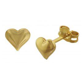 trendor 35737 Gold-Ohrringe Herzen