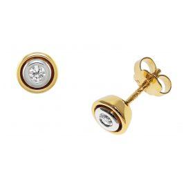 trendor 532508 Gold Damenohrringe