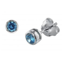 trendor 08766 Silber-Ohrringe mit Zirkonias