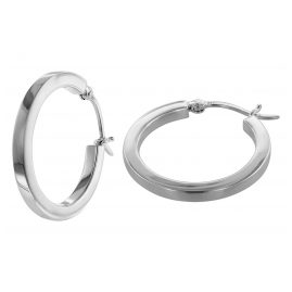 trendor 08773 Ohrringe Silber Creolen 30 mm