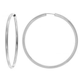 trendor 08858 Silber Creolen XL 60 mm