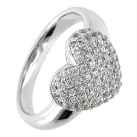 trendor 66240 Silber Ring Herz