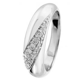 trendor 64512 Silber Zirkonia Ring glanz