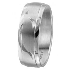 trendor 65496 Silber Freundschaftsring