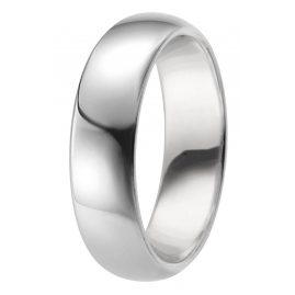 trendor 65731 Silber Freundschaftsring Breite 6 mm
