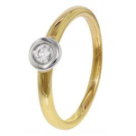 trendor 35254 Diamond Gold Ring
