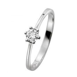 trendor 532456 Weißgold Diamant-Ring