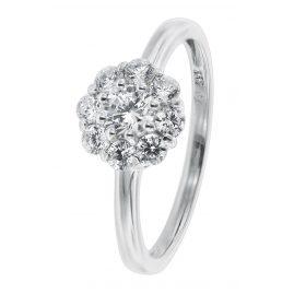 trendor 08715 Ladies' Ring White Gold 333/8 ct