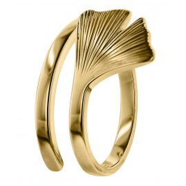 trendor 75038 Gingko Damen-Ring Gold 333