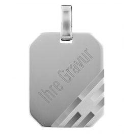 trendor 73877 Silber Gravur-Anhänger
