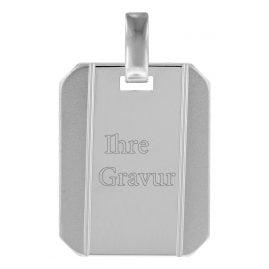 trendor 78667 Silber Gravurplatte