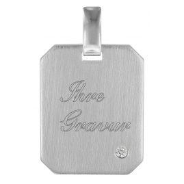 trendor 78742 Gravuranhänger Silber