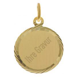 trendor 35778 Gold Pendant Engraving Plate