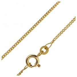 trendor 71965 Necklace Gold 333 Curb Chain Width 1.4 mm