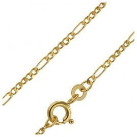 trendor 71811 Gold Necklace Figaro 333