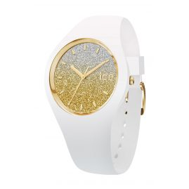 Ice-Watch 013428 Damenuhr Ice Lo Weiß/Gold S