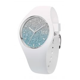 Ice-Watch 013425 Damen-Armbanduhr Ice Lo Weiß/Hellblau S