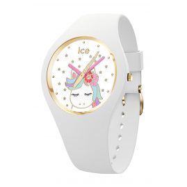 Ice-Watch 016721 Kinderuhr Einhorn Weiß S