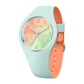 Ice-Watch 016981 Damenuhr Duo Chic Aqua/Koralle S
