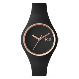 Ice-Watch 000980 Damenuhr Ice Glam Schwarz/Roségold M