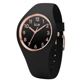 Ice-Watch 015340 Damenuhr Glam schwarz/roségold M