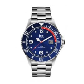 Ice-Watch 015771 Men's Watch Ice Steel Blue Silver M