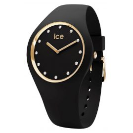 Ice-Watch 016295 Damen-Armbanduhr Cosmos Black Gold M