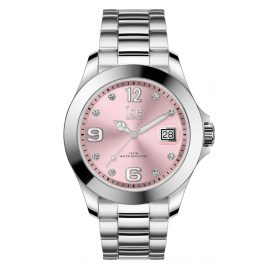 Ice-Watch 016776 Damenuhr Ice Steel Light Pink M