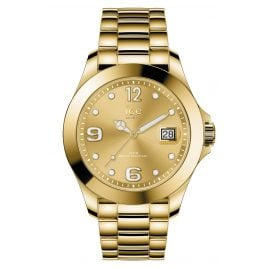 Ice-Watch 016777 Damen-Armbanduhr Ice Steel Gold Shiny M