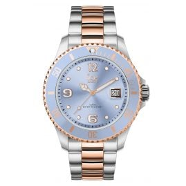 Ice-Watch 016770 Ladies Watch Ice Steel Sky Silver Rose-Gold M