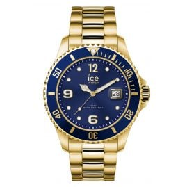 Ice-Watch 016761 Armbanduhr Ice Steel Gold Blue M