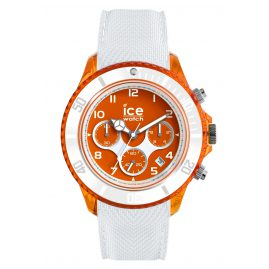 Ice-Watch 014221 Chronograph Ice Dune White Orange Red L