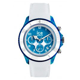 Ice-Watch 014224 Herren-Chronograph Ice Dune White Superman Blue XL