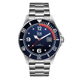 Ice-Watch 015775 Herrenarmbanduhr Ice Steel Marine Silver L