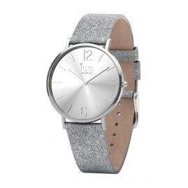 Ice-Watch 015080 Damenuhr City Sparkling Glitter Silber XS