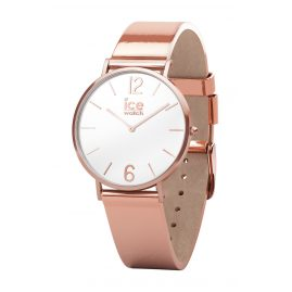 Ice-Watch 015085 Damen-Quarzuhr City Sparkling Metal Rosegold XS