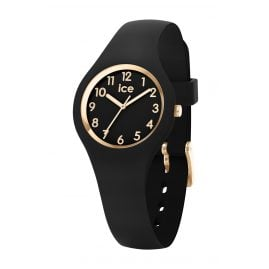 Ice-Watch 015342 Damenuhr Ice Glam Schwarz/Gold XS