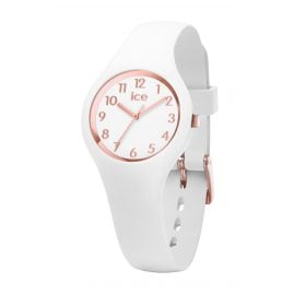 Ice-Watch 015343 Damenuhr Ice Glam Weiß/Roségold XS